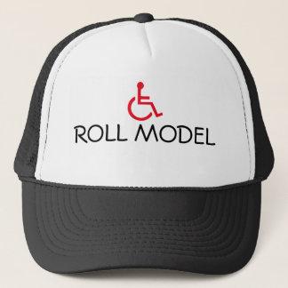 Casquette de camionneur handicapé par fauteuil