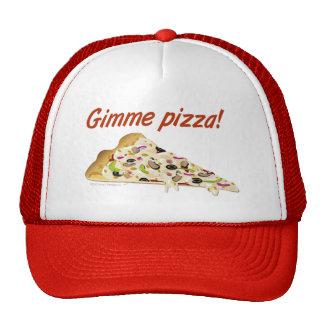 Casquette de camionneurs d'amants de pizza de