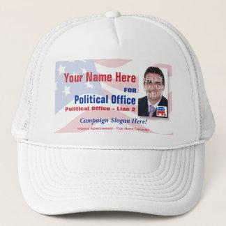 Casquette de campagne électorale politique -