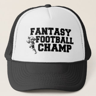 Casquette de champion du football d'imaginaire
