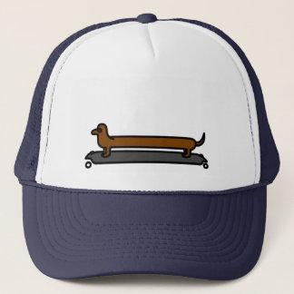 Casquette de chapeau de camionneur de chien de