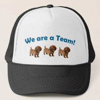 Casquette de chapeau d'équipe de teckel (bleu)