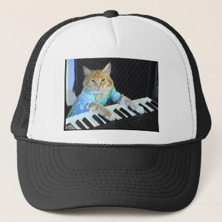 Casquette de chat de clavier