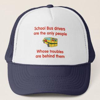 Casquette de chauffeur d'autobus scolaire