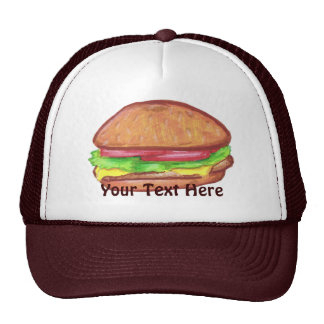 Casquette de cheeseburger