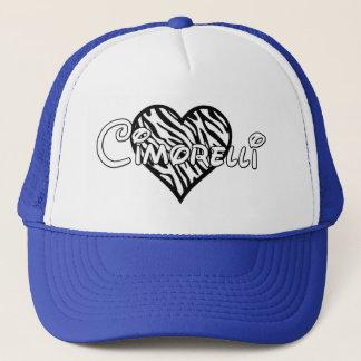 Casquette de Cimorelli - coeur de zèbre