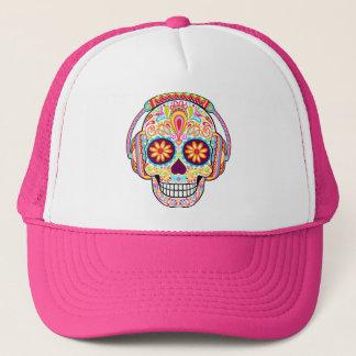 Casquette de crâne de sucre - jour du casquette