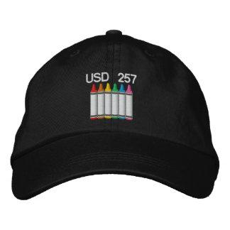Casquette de crayon casquette brodée