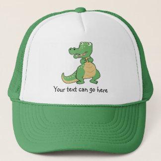 Casquette de crocodile de bande dessinée