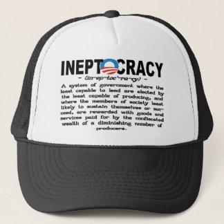 Casquette de définition d'Ineptocracy (noir)