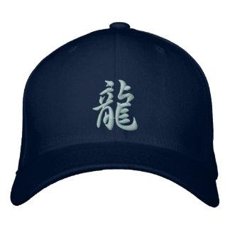 Casquette de dragon de kanji