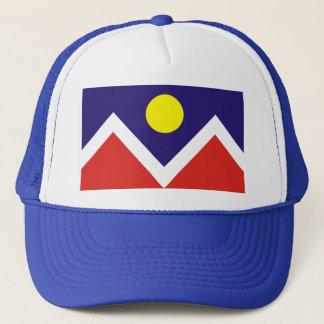 Casquette de drapeau de Denver