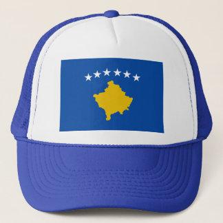 Casquette de drapeau de Kosovo