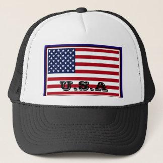 Casquette de drapeau des Etats-Unis