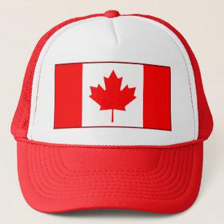 Casquette de drapeau du Canada