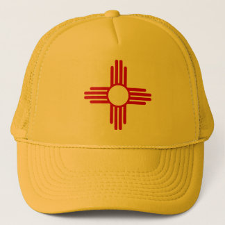 Casquette de drapeau du Nouveau Mexique