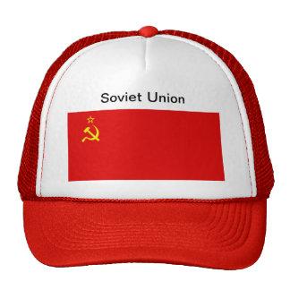 Casquette de drapeau d'Union Soviétique