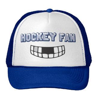 Casquette de fan d'hockey