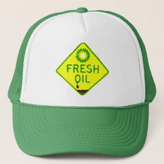 Casquette de flaque d'huile de BP - huile fraîche