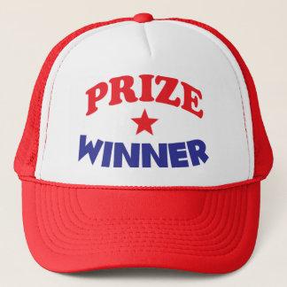 casquette de gagnant du prix