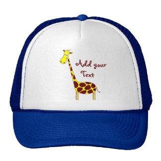 Casquette de girafe