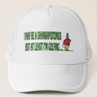 Casquette de golf : Hippopotame de Shankapotomus