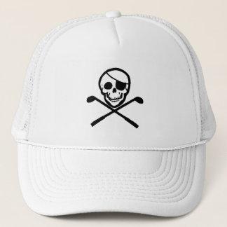 Casquette de golfeur de pirate de jolly roger