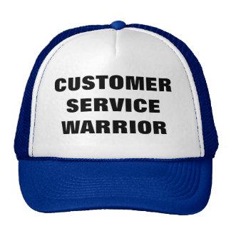 Casquette de guerrier de service à la clientèle