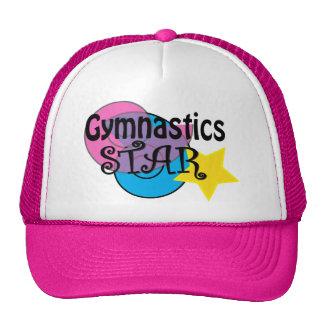 Casquette de gymnastique pour des gymnastes