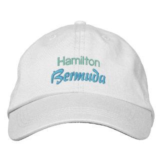 Casquette de HAMILTON, BERMUDES