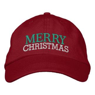 Casquette de Joyeux Noël par SRF Casquette Brodée