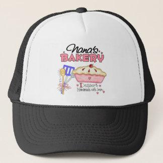 Casquette de la boulangerie de Nana