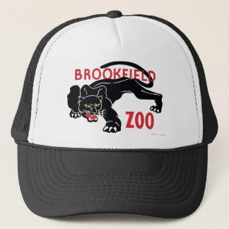 Casquette de léopard de noir de zoo de Brookfield