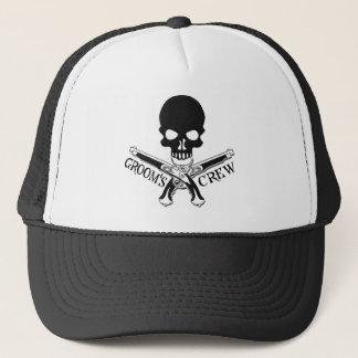 Casquette de l'équipage du marié de pirate