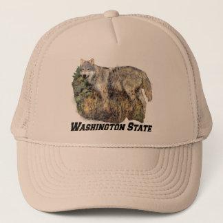 Casquette de l'état de Washington (Loup)