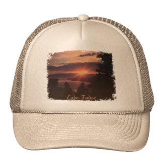 Casquette de lever de soleil du lac Tahoe