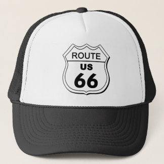 Casquette de l'itinéraire 66