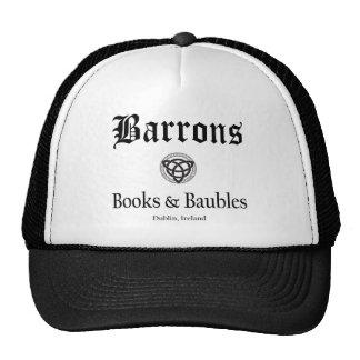 Casquette de livres et de babioles de Barrons