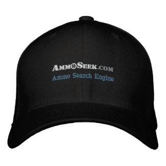 Casquette de logo d'AmmoSeek avec le texte de
