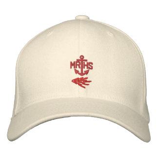 Casquette de logo d'ancre de MRHS