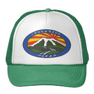 Casquette de logo de couleur verte