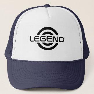 Casquette de logo de légende