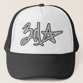 casquette de logo de l'étoile 3d