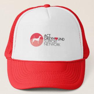 Casquette de logo de réseau de soutien de lévrier
