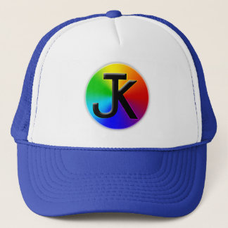 Casquette de logo de roue de couleur de Jk