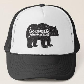 Casquette de logo d'ours de parc national de