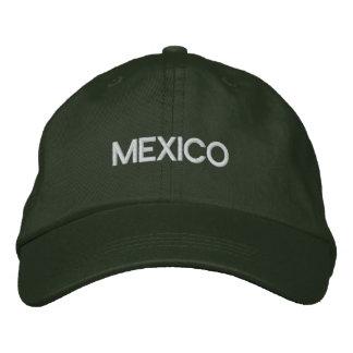 Casquette de logo du MEXIQUE pour des Mexicains