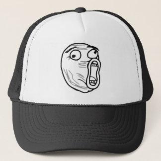 Casquette De LOL de rire visage bruyant Meme de rage