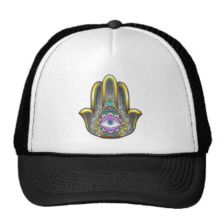 casquette de main de hamsa