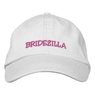 """Casquette de mariage de """"casquette de Bridezilla"""" Casquette Brodée"""
